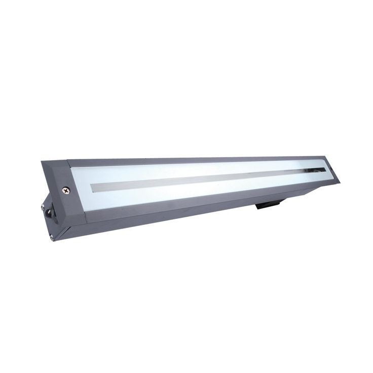 Eurofase Lighting 19550-015 Medium Architectural InGround Linear Fluorescent Recessed Well Light, Grey - Lighting Universe