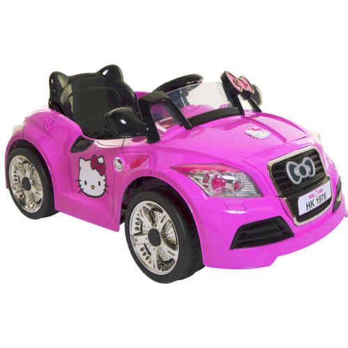 Hello Kitty Toy Car For Girls : Hello kitty v sports car battery powered ride on for