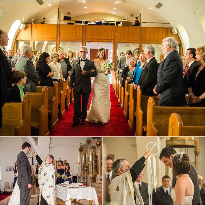 This Is A Knoxville Greek Wedding At Saint George Orthodox Church In Tn Spring With Lisa Foster Fl Design And Music Motion Dj