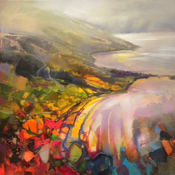 Scott Naismith-new work <Light Fantastic> showing at the Morningside Gallery