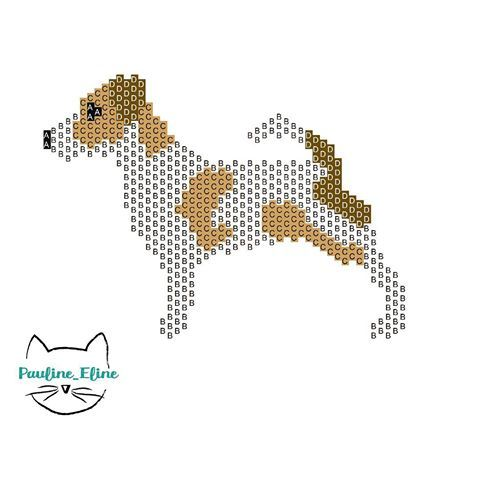Voilà le diagramme de Sir Edmund Lancelot Puddington III pour ceux qui sont intéressés ! J'ai beaucoup aimé ce petit défi, merci @marieafdmt ! Si vous aussi vous avez des idées à me soumettre, n'hésitez pas, ça me ferait plaisir. Ce diagramme est pour un usage privé et non commercial. #jenfiledesperlesetjassume #miyukibeads #beadwork #miyuki #perleaddict #perles #diagrammeperles #beadpattern #dog #chien #jackrussell #brickstitch #motifpauline_eline