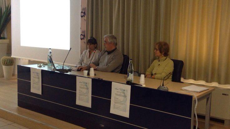M.Teresa Maurello, Roberto Cacioli e Iole Pinto della Usl 7 e 8 relatori del seminario