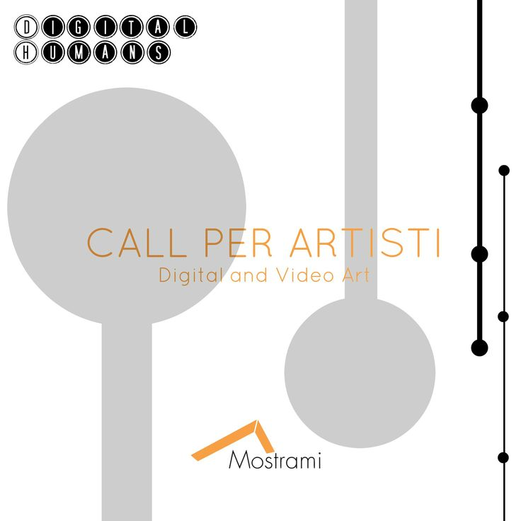 """http://www.mostra-mi.it/main/?p=10507  Mostrami annuncia la propria collaborazione con TIM4Expo in occasione della realizzazione di """"Digital Humans"""" una Mostra all'interno dello spazio espositivo TIM4EXPO presso la Triennale di Milano.  Il tema del bando verterà sull'uomo & la tecnologia e chi può affrontarlo meglio di voi artisti che operate attraverso supporti digitali?"""