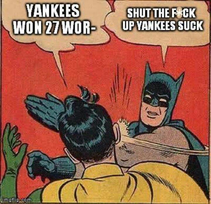 Batman? Sox fan.