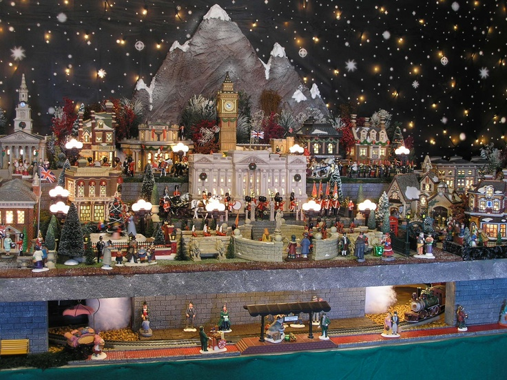 159 Best Christmas Village Images On Pinterest Christmas   Christmas Town  Decorations
