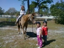 Horseback riding:)