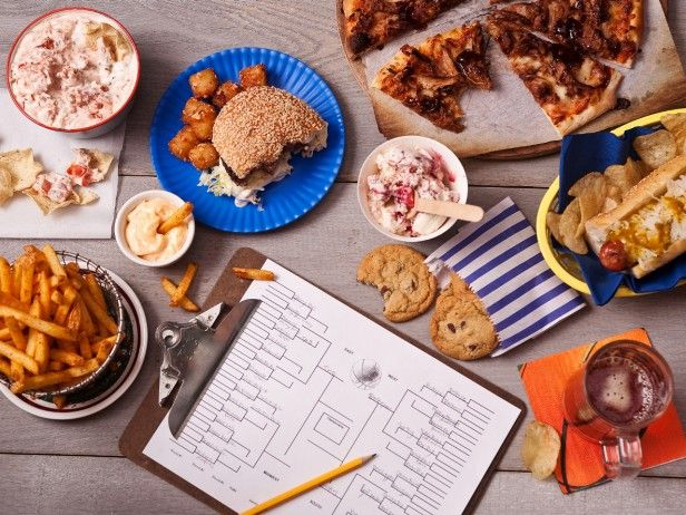 Snack Suggestions for #MarchMadness