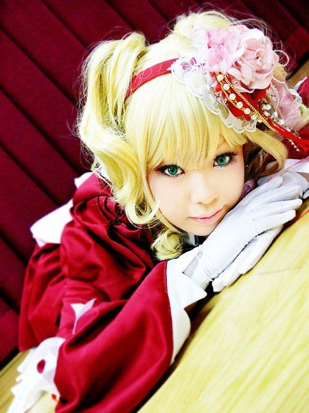 Lizzy cosplay from black butler :3 people who haven't seen the show go watch it. It is really good