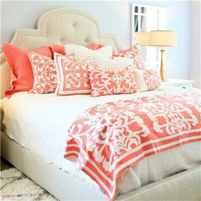 I Really Love This One, Except Iu0027d Go For A Different Color And. Coral  BeddingCoral BedroomCute ...