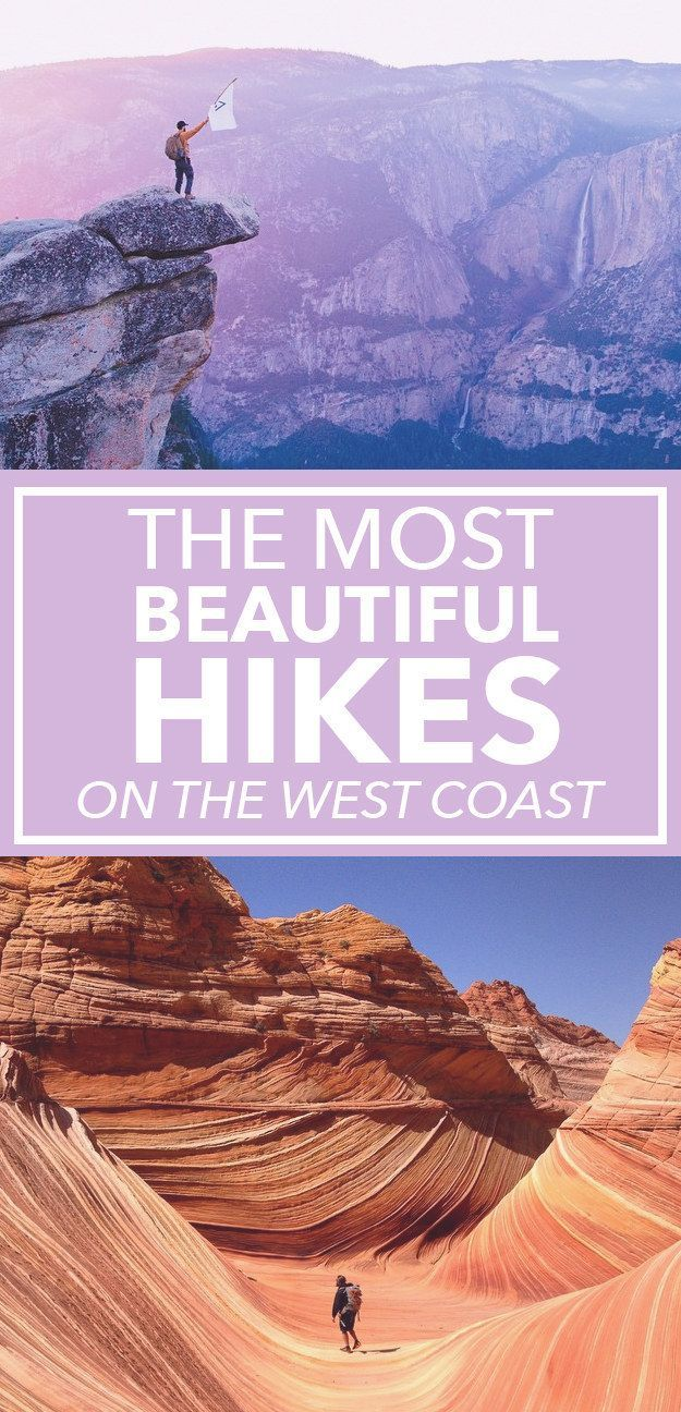 16 Of The Most Photogenic Hikes On The West Coast | A win-win: Exercise and stunning views as an added bonus