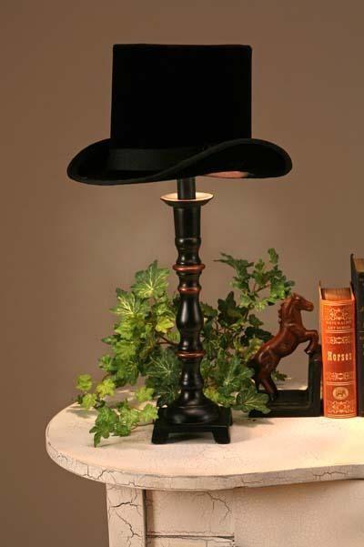 DIY lampshade. In the hallway near my hat display?
