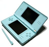 Boxshot: Nintendo DS Lite System - Ice Blue (ReCharged Refurbished) by Recharged
