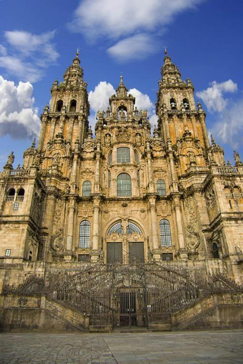 Catedral de santiago de compostela galicia arquitectura pinterest espa a santiago de - Santiago de compostela arquitectura ...