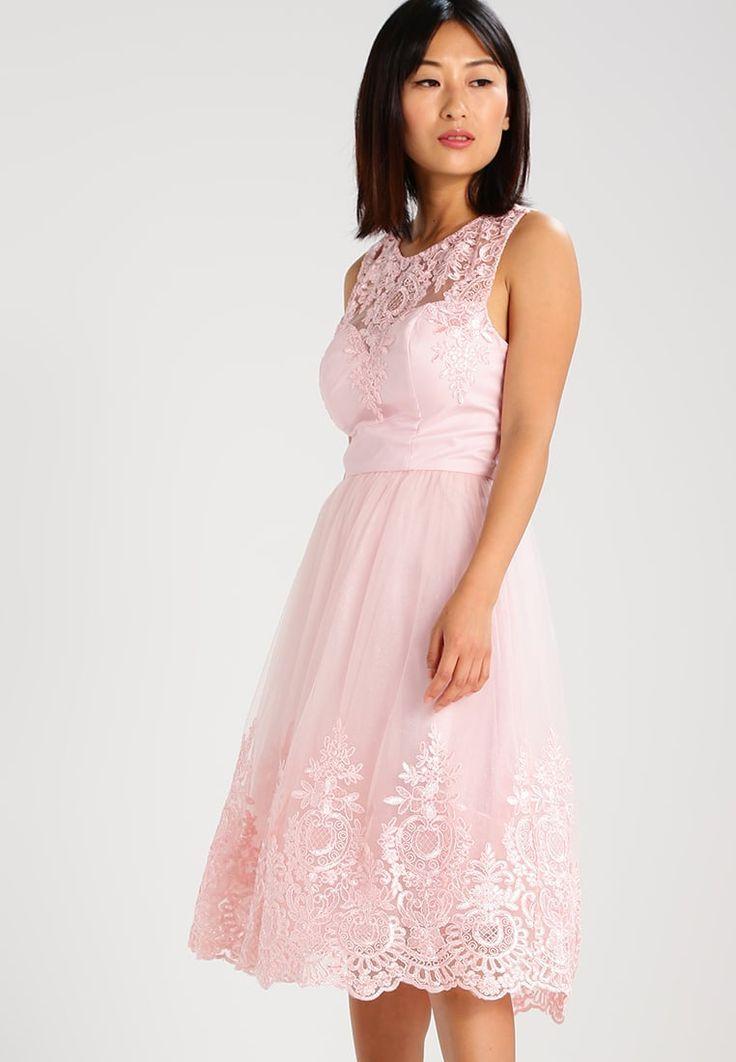 Chi Chi London Petite SABRINA - Cocktailkleid / festliches Kleid - pink - Zalando.de