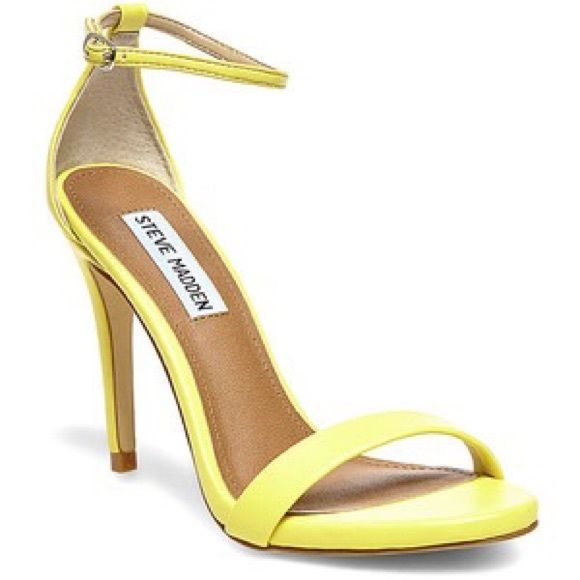 The 25  best Yellow strappy heels ideas on Pinterest | Mid skirts ...