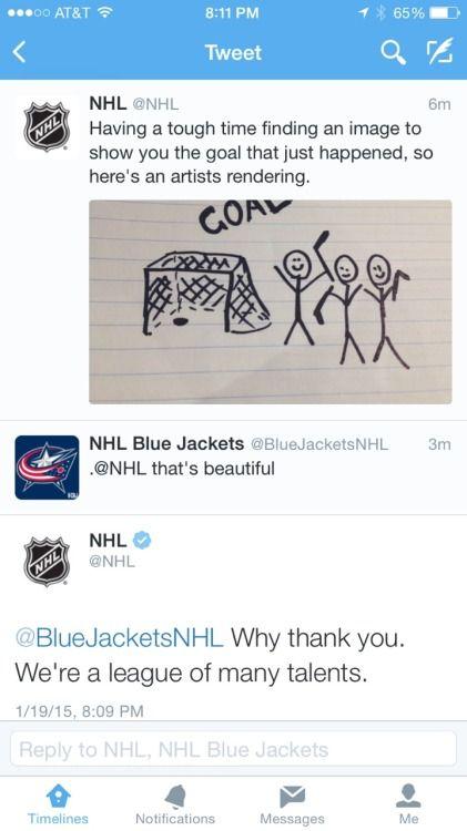 Hockey Player Tweets