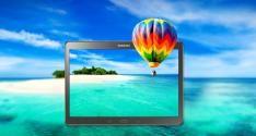 La Samsung Galaxy Tab S cuenta con una pantalla Super AMOLED que ofrece una experiencia visual excepcional. Permite disfrutar de una reproducción de color más real, ya que es capaz de soportar el 94% de la gama de colores Adobe RGB, en comparación con el 73% de las pantallas LCD tradicionales.