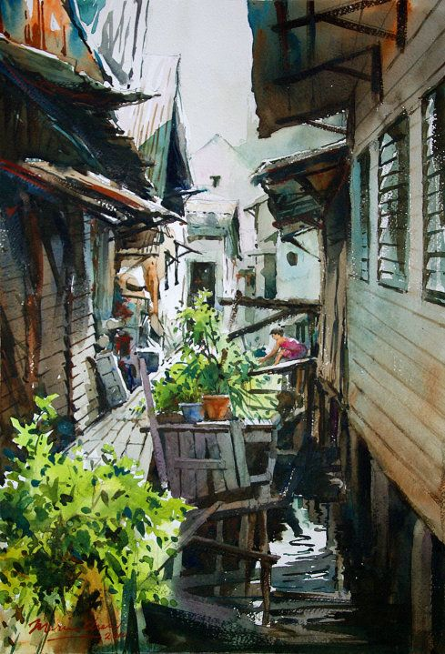 Marvin Chew - village life