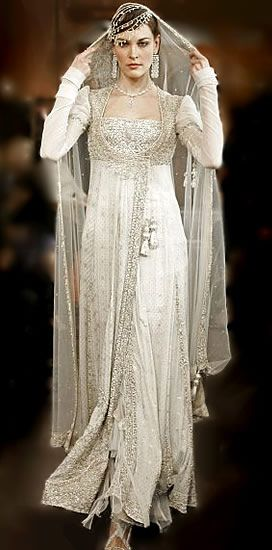 Middle Eastern Wedding Dress...I have no words for how gorgeous this is.