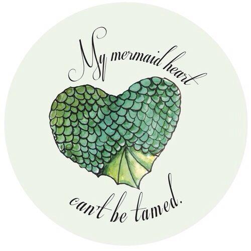 Mermaid heart quote