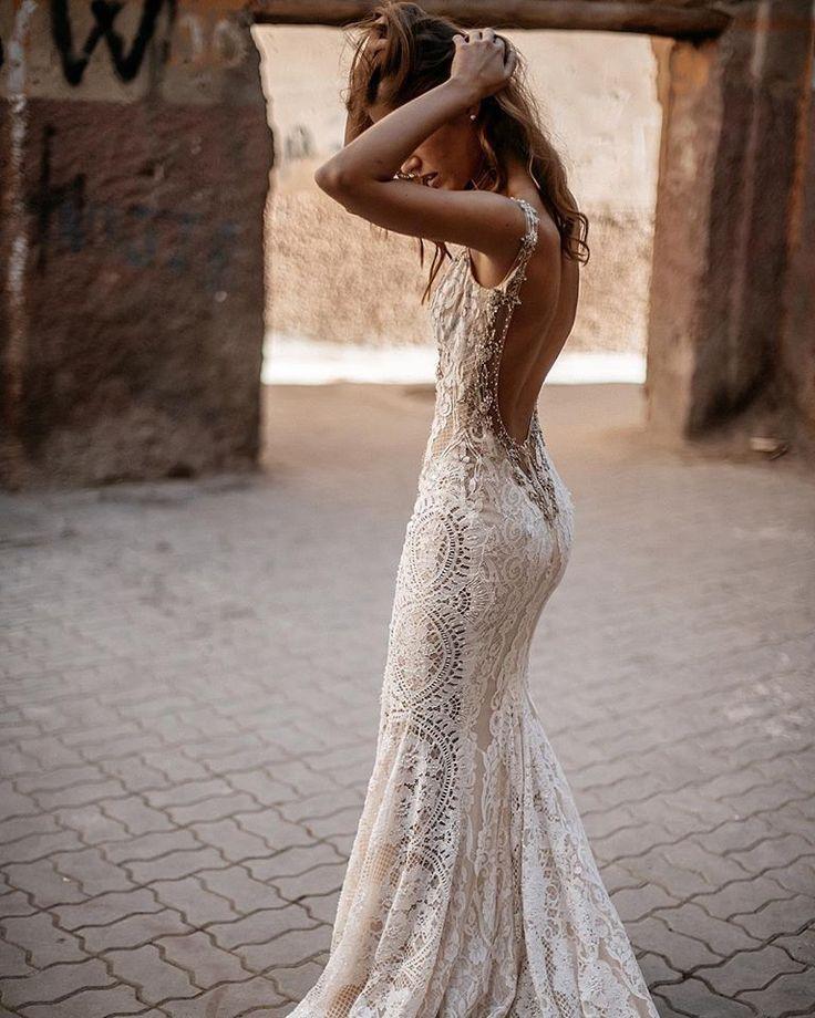 Luca Queen Of Hearts Bridal Dresses Galia Lahav Backless Wedding Dress Wedding Dresses Lace Lace Beach Wedding Dress