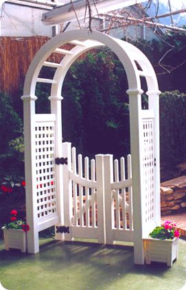 17 Best Images About Fence On Pinterest Arbor Gate