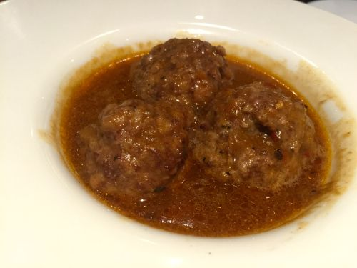 Meatballs! At Amantia, Birmingham