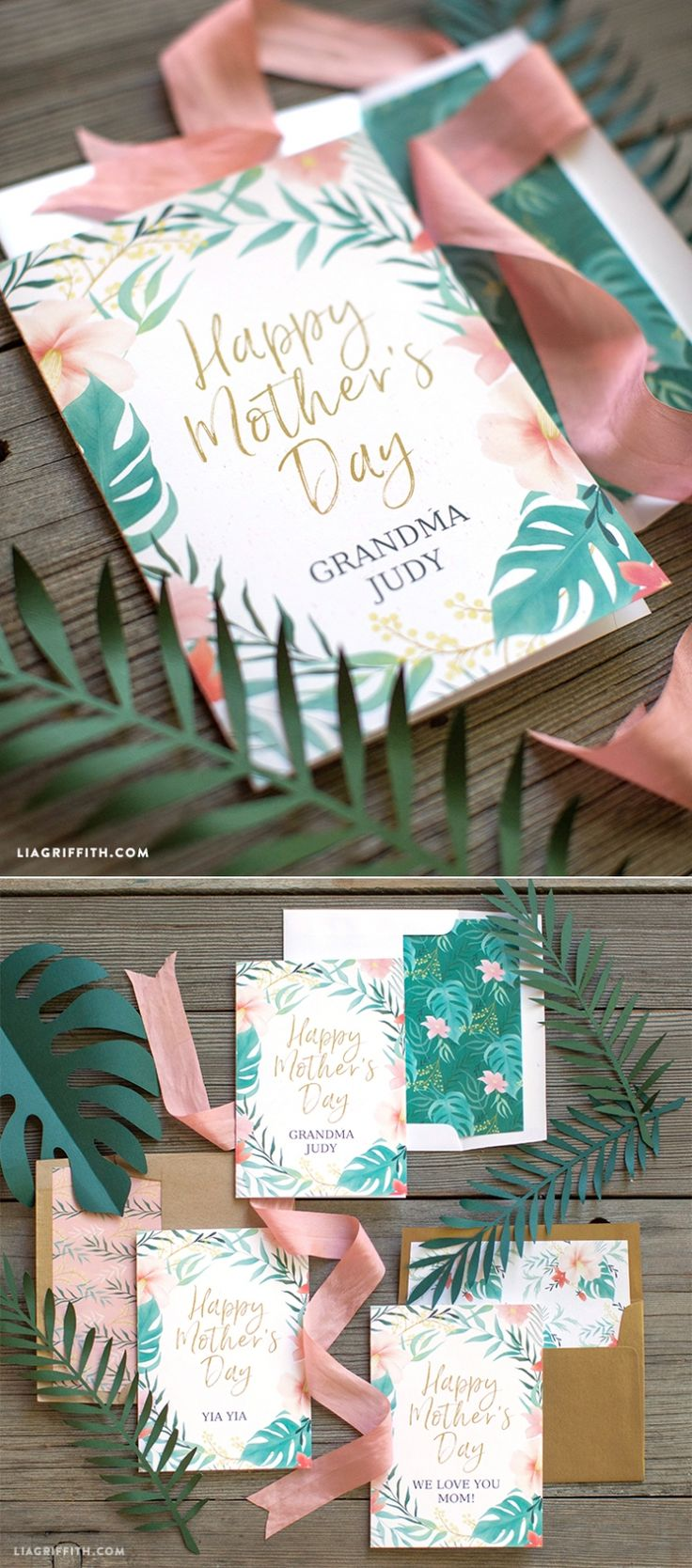 #MothersDayCard You can make this! www.LiaGriffith.com