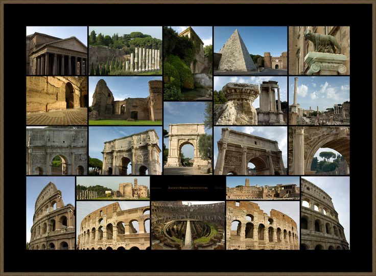 Wonderful Ancient Roman Architecture In Inspiration Decorating
