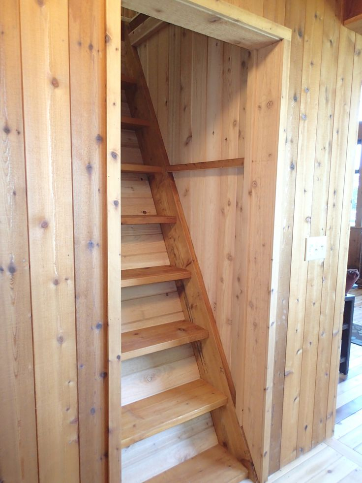 Loft Access Stair/ladder. We Are So Happy With The Design (and The