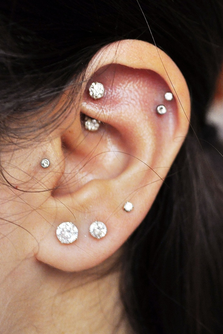 Bump near cartilage piercing   best Tattoos and piercings images on Pinterest  Tattoo ideas