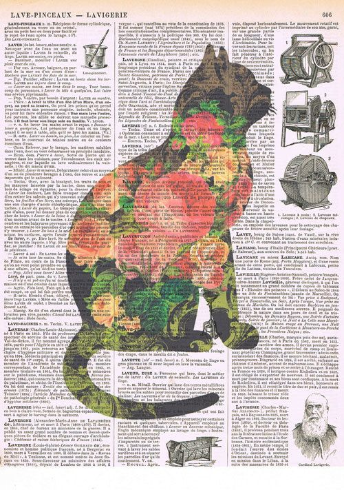 Cat Flowers. Feline.Book - love the transparency effect, the composition is awesome, and the colors are perfect!!