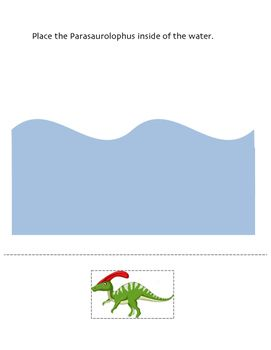 b972cc9a2b40c088adf8916722f51e90 This is a 7 page booklet to do with students learning about positional words. Th... Dinosaurs