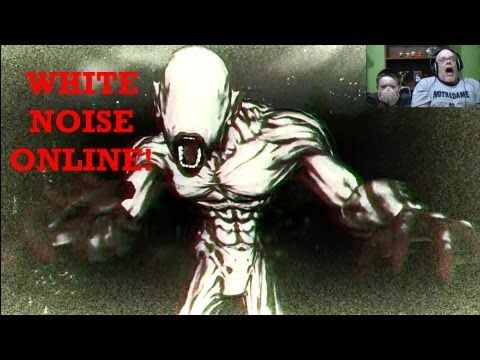 """Scary Creepy Game Gameplay """"White Noise Online"""" 
