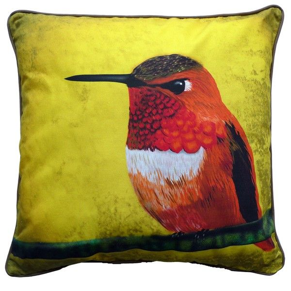 Myrte Hummingbird pillow  webshop urbanliving.se