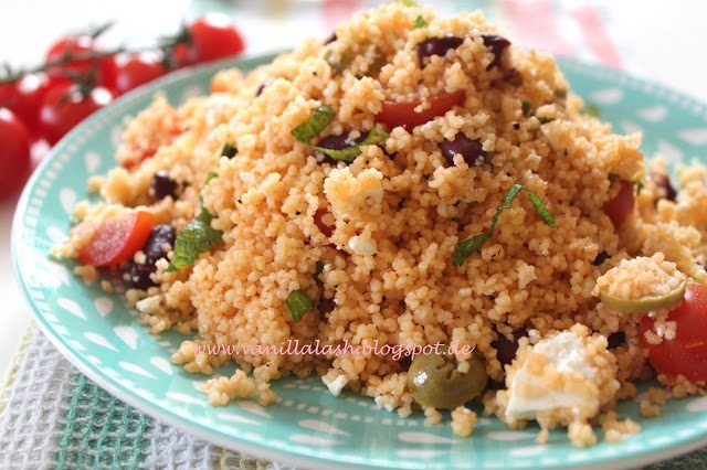 Couscous Salad: Side dish for barbeque
