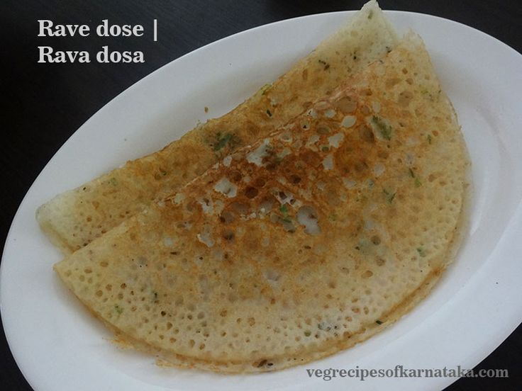 Rava dosa or rave dose recipe explained with step by step pictures. Rava dosa or rave dose is very popular breakfast recipe in Karnataka. Rava dosa or rave dose is prepared using rice flour, rava or semolina and maida flour. Optionally coriander leaves, cumin seeds, pepper, curry leaves and ginger are used.