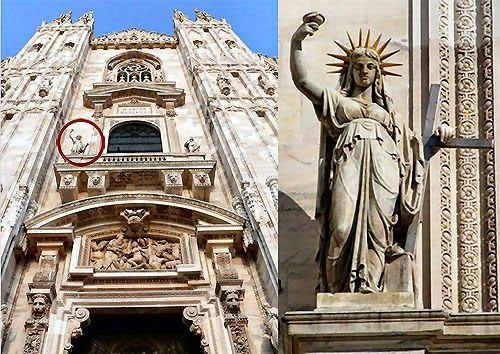 Amici-in-allegria: Duomo di Milano: curiosità