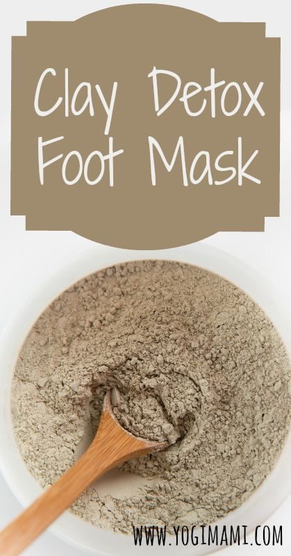 Our feet are a great way to remove toxins from our body. Checkout this simple and effective detox clay foot mask recipe.