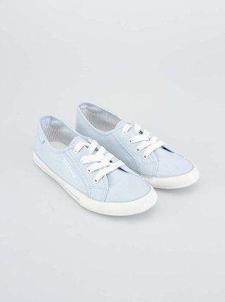 Xti - Světle modré dámské tenisky - 1