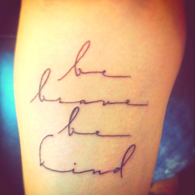 This tattoo perfect font perfect everything just for Small cursive tattoos