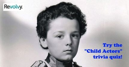 "I got an ""A "" grade on the ""Child Actors #2"" quiz. Can you answer this trivia regarding famous child actors? Express yourself. Organize your knowledge. Expand your mind. Discover the world. Revolvy connects you with interesting topics and quizzes. Choose from hundreds of quizzes that test your knowledge. Search through millions of topics. Create a your personalized library of topics, and discover topics that others are following."