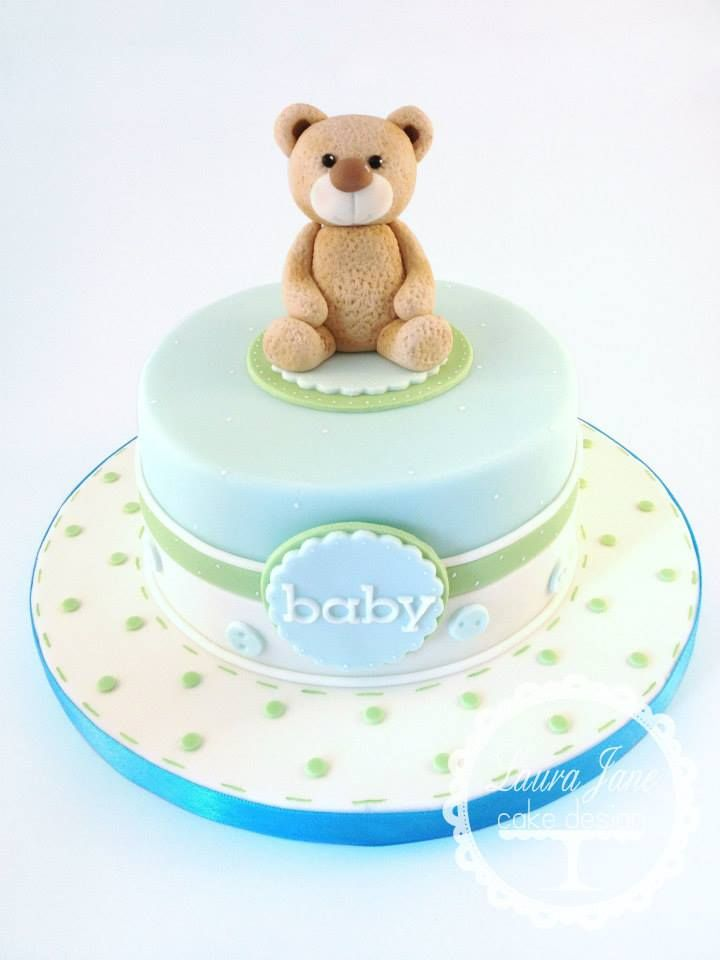 Cake Design Teddy Bear : Laura Jane Cake Design Cakes - Babies & baby shower ...