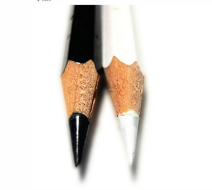 Color Negro y Blanco - Black & White!!! Pencils