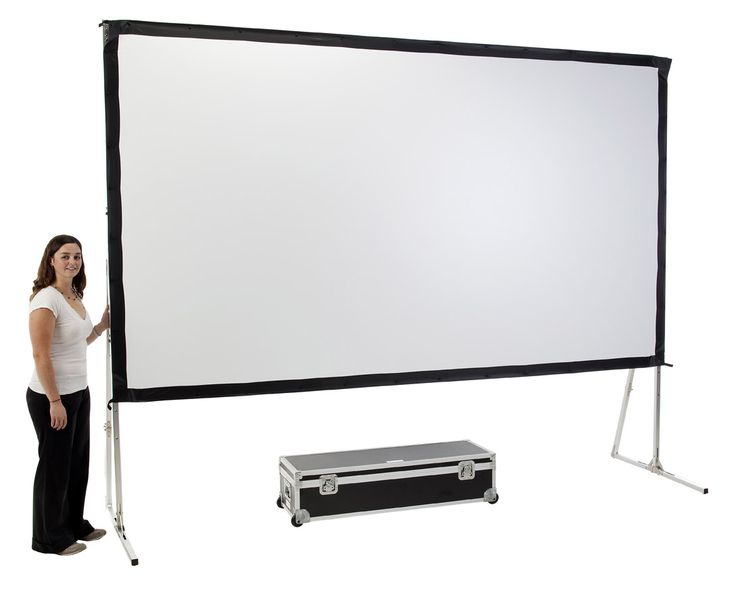 The weather is bad? Use foldable screens like this SmartFold Screen