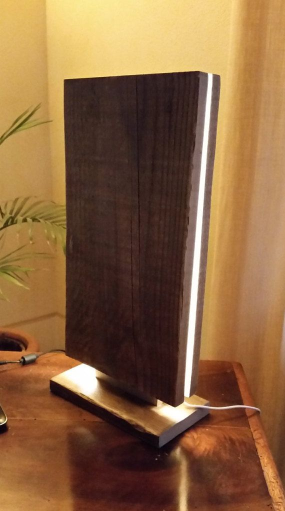 Cool Altholz led Lampe Mag t Tischleuchte Lampe aus