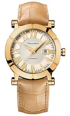 Tiffany Watches - Atlas Gold