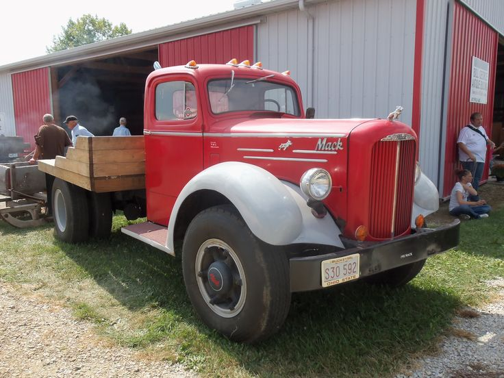 1950 To 1965 Mack Trucks : Red gray s mack truck my pictures