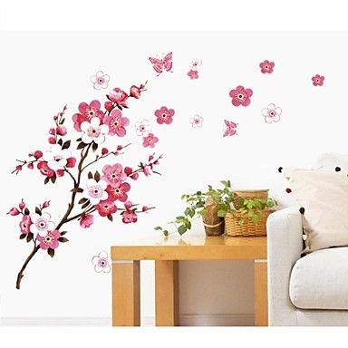 jiubai® kukka puu seinä tarra Seinätarra - EUR € 14.54