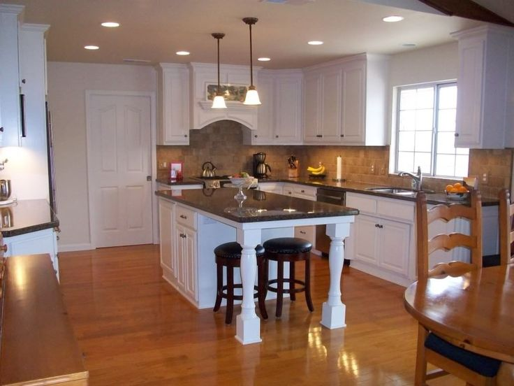 photo kitchen island design with seating images kitchen island design ideas - Kitchen Island Design Ideas With Seating